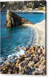 Sea Stack Of Monterosso Acrylic Print