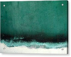 Acrylic Print featuring the photograph Sea Storm by Robert Riordan