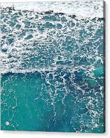 Sea View Acrylic Print by Liz  Alderdice