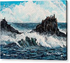 Acrylic Print featuring the painting Sea Whisper by Shana Rowe Jackson