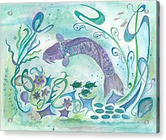 Sea World -painting Acrylic Print
