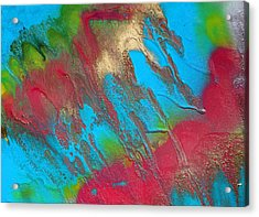Seabreeze Abstract Painting Acrylic Print