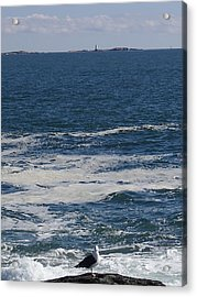 Acrylic Print featuring the photograph Seabreeze. by Robert Nickologianis
