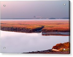 Seabrook Glows Acrylic Print by Shell Ette