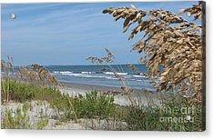 Seabrook Sc Beach Acrylic Print