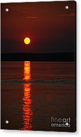 Seabrook Sunset Acrylic Print