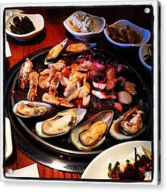 #seafood Galore, #easter #sunday #lunch Acrylic Print