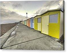 Seaford Beach  Acrylic Print by Rob Hawkins