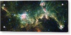 Seagull Nebula Acrylic Print by Adam Romanowicz