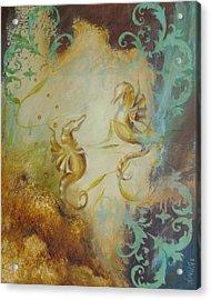 Seahorse Dream 1 Acrylic Print by Dina Dargo