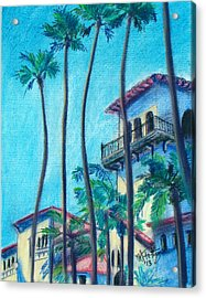 Seal Beach City Hall Acrylic Print