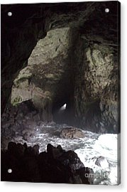 Seal Cave Acrylic Print by Jeff Pickett