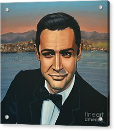Sean Connery As James Bond Acrylic Print