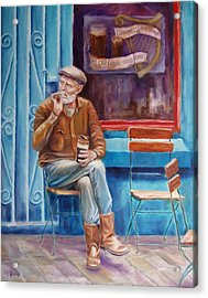 Sean Demsey And The Rare Auld Times Acrylic Print by Bernie Rosage Jr