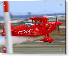 Sean Tucker And The Oracle Challenger II At Salinas Airshow Acrylic Print