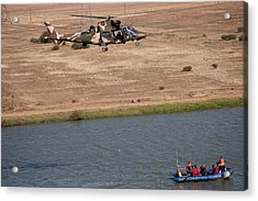 Search And Rescue  Acrylic Print by Paul Job