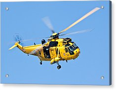 Search And Rescue Sea King Acrylic Print