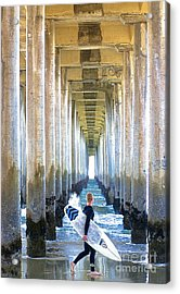 Acrylic Print featuring the photograph Searching For Peace by Margie Amberge