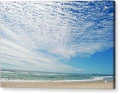 Acrylic Print featuring the photograph Seascape 2 by Ankya Klay