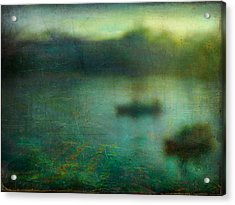 Seascape #23. Retreat Pond Acrylic Print