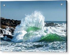 Seascape 3 Acrylic Print by David Rothstein