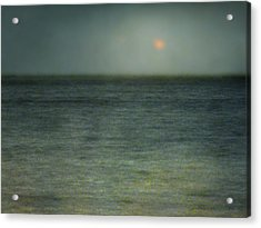 Seascape #5. Sun Sea Horizon Acrylic Print