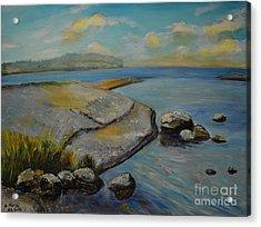 Seascape From Hamina 1 Acrylic Print