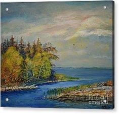 Seascape From Hamina 3 Acrylic Print