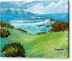 Seascape Acrylic Print by Mauro Beniamino Muggianu