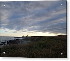 Acrylic Print featuring the photograph Seascape by Robert Nickologianis