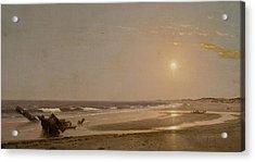 Seascape Acrylic Print by William Trost Richards