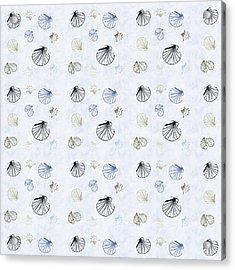 Seashell Pattern Acrylic Print