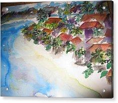 Seashore In Bali Acrylic Print