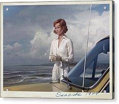 Seaside 1974 Acrylic Print