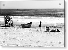 Seaside Beach Days Acrylic Print by John Rizzuto