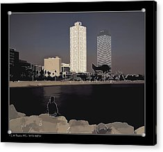 Acrylic Print featuring the photograph Seaside Boulevard by Pedro L Gili