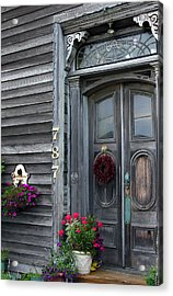 Seaside Entrance Acrylic Print by Robert Lozen