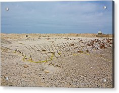 Acrylic Print featuring the photograph Seaside Heights...beyond The Dunes. After Hurricane Sandy by Ann Murphy