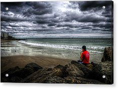 Seaside Music Acrylic Print by Svetlana Sewell