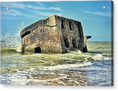 Seaside Northern Forts Acrylic Print by Gynt