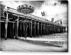 Seaside Pier Acrylic Print by John Rizzuto