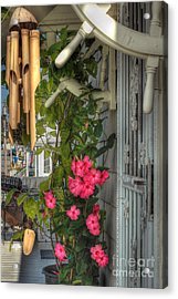 Seaside Porch Acrylic Print by Joann Vitali
