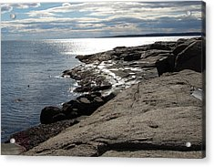 Acrylic Print featuring the photograph Seasider by Mim White