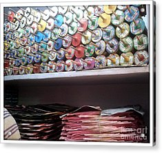 Season Of Kites Acrylic Print by Ankit Garg