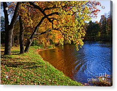 Acrylic Print featuring the photograph Seasons by Boon Mee