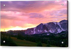 Acrylic Print featuring the photograph Seasons Change by Chris Tarpening