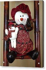 Seasons Greetings Acrylic Print by Pema Hou