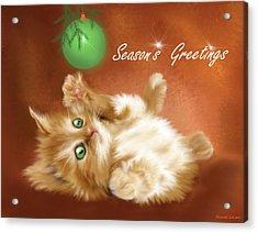 Season's Greetings Acrylic Print