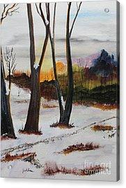 Seasons Acrylic Print by Jack G  Brauer
