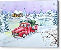 Winter Season Acrylic Print